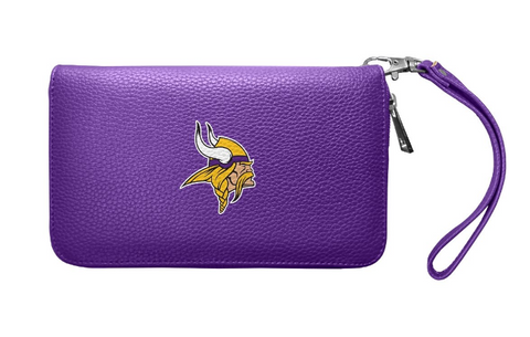 Minnesota Vikings Womens Wallet Pebble Organizer