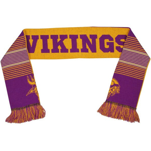 Minnesota Vikings FOCO Reversible Retro Scarf