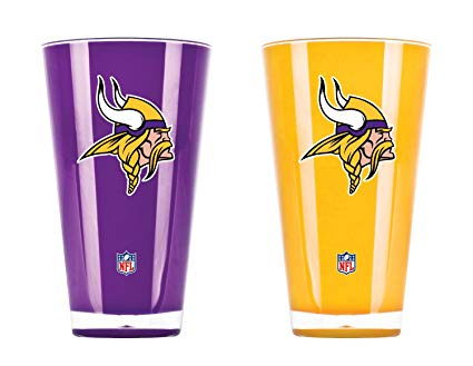 Minnesota Vikings Insulated Tumbler Set Twin Pack
