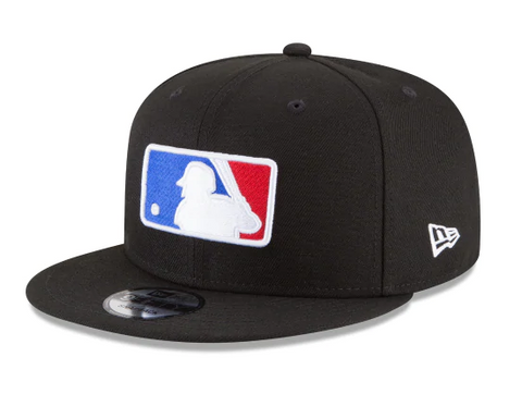 Major League Baseball MLB Snapback Logo Baseball New Era Cap Hat Black