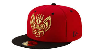 Louisville Bats Murcielagos Fitted New Era 59Fifty Copa de la Diversion Red Black