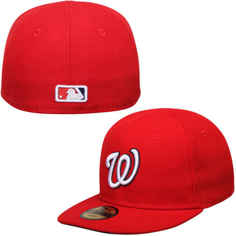 Washington Nationals Fitted Infant New Era My 1st 59Fifty Cap Hat Red
