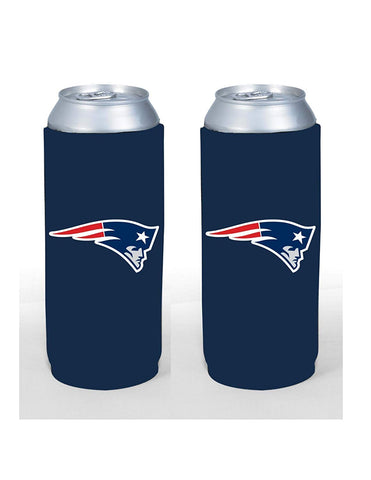 New England Patriots Tall Boy 24oz Can Holder
