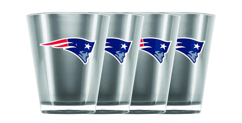 New England Patriots Insulated Acrylic Shot Glass 4pc Set