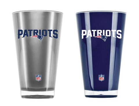 New England Patriots Insulated Tumbler Set Twin Pack