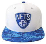 Brooklyn Nets Snapback Mitchell & Ness Powder Blue Digi Camo Cap Hat