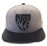 Brooklyn Nets Snapback New Era ORIGINAL FIT Blend Beat Cap Hat Wool Leather