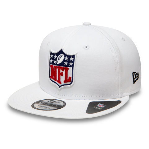 National Football League NFL New Era 9Fifty Shield Logo Snapback White