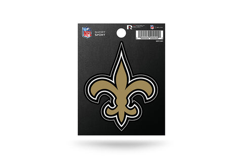 New Orleans Saints Small Sticker Short Sport Set of 2
