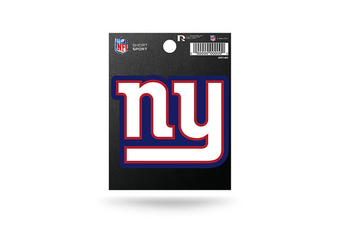 New York Giants Small Sticker Short Sport Set of 2