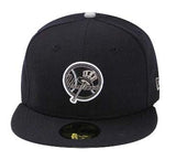 New York Yankees Fitted New Era 59Fifty Neon Sign Navy Cap Hat 7