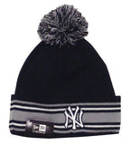 New York Yankees New Era Sport Knit On Field Pom Beanie Fold