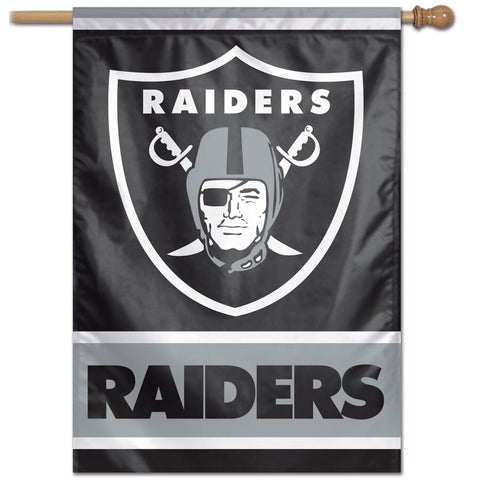 "Oakland Raiders 28"" x 40"" Vertical Flag"