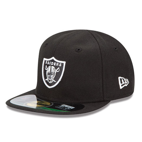 Oakland Raiders Fitted Infant New Era My 1st 59Fifty Cap Hat Black