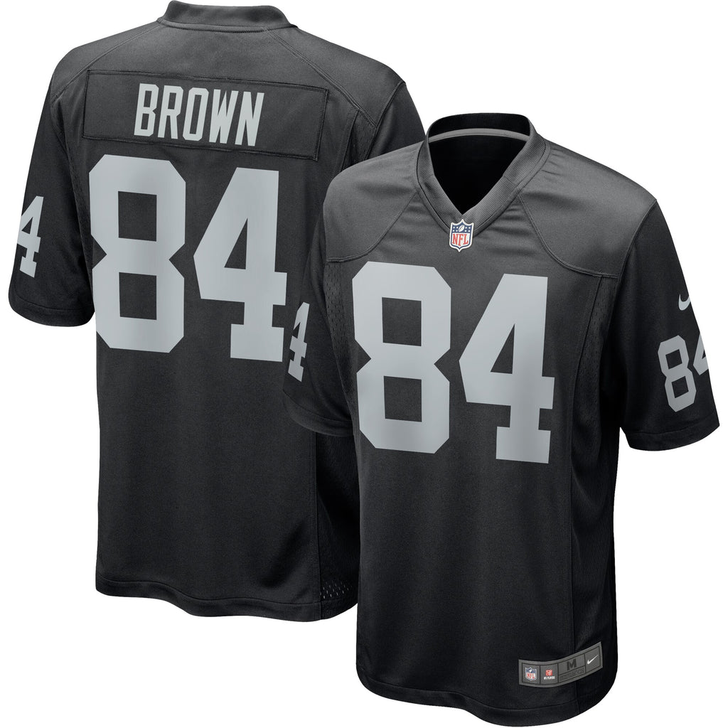 cheap for discount 5b5ff 269f9 Oakland Raiders Jersey Nike Antonio Brown Black Game