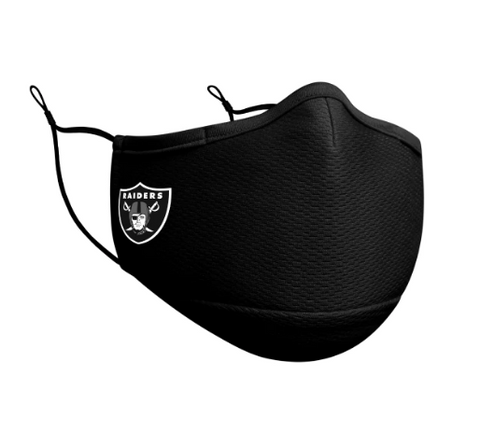 Las Vegas Raiders New Era Face Mask Black