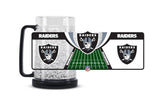 Oakland Raiders 16 oz. Crystal Freezer Mug
