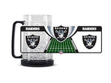 Oakland Raiders 38 oz. Macho Crystal Freezer Mug