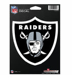 Oakland Raiders Decal Medium Die Cut