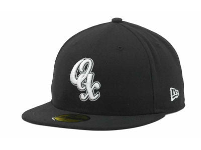 Guerreros de Oaxaca Mexican Baseball League New Era 59Fifty Fitted Black Hat Cap
