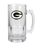 Green Bay Packers 32 oz Heavy Duty Glass Macho Mug