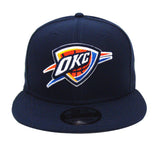 Oklahoma City Thunder Snapback New Era Basic Cap Hat Navy