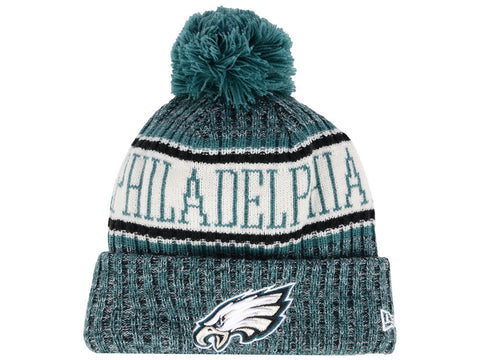 Philadelphia Eagles Beanie New Era 2018 Sideline Official Sport Knit Hat