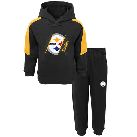 Pittsburgh Steelers Toddler Fullback 2 pc Fleece Hoodie & Pants Set