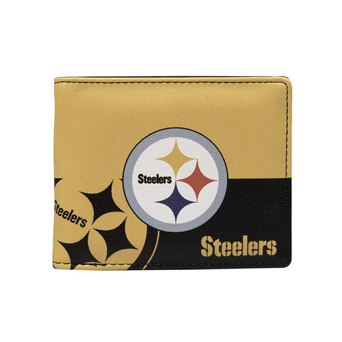 Pittsburgh Steelers Bi-fold Wallet 2 Tone
