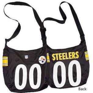 Pittsburgh Steelers Bag MVP Jersey Tote Purse Black
