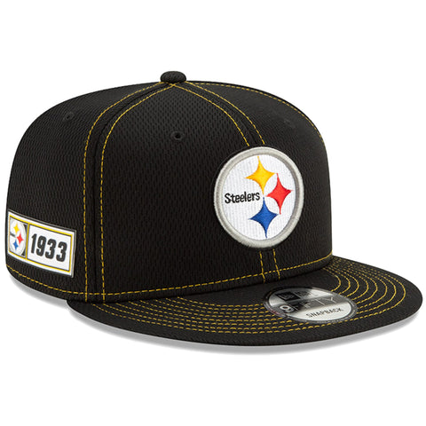 Pittsburgh Steelers Snapback New Era 9Fifty 2019 NFL Sideline Road Adjustable Hat