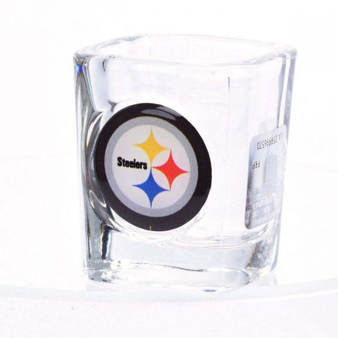 Pittsburgh Steelers 2oz Logo Square Shot Glass