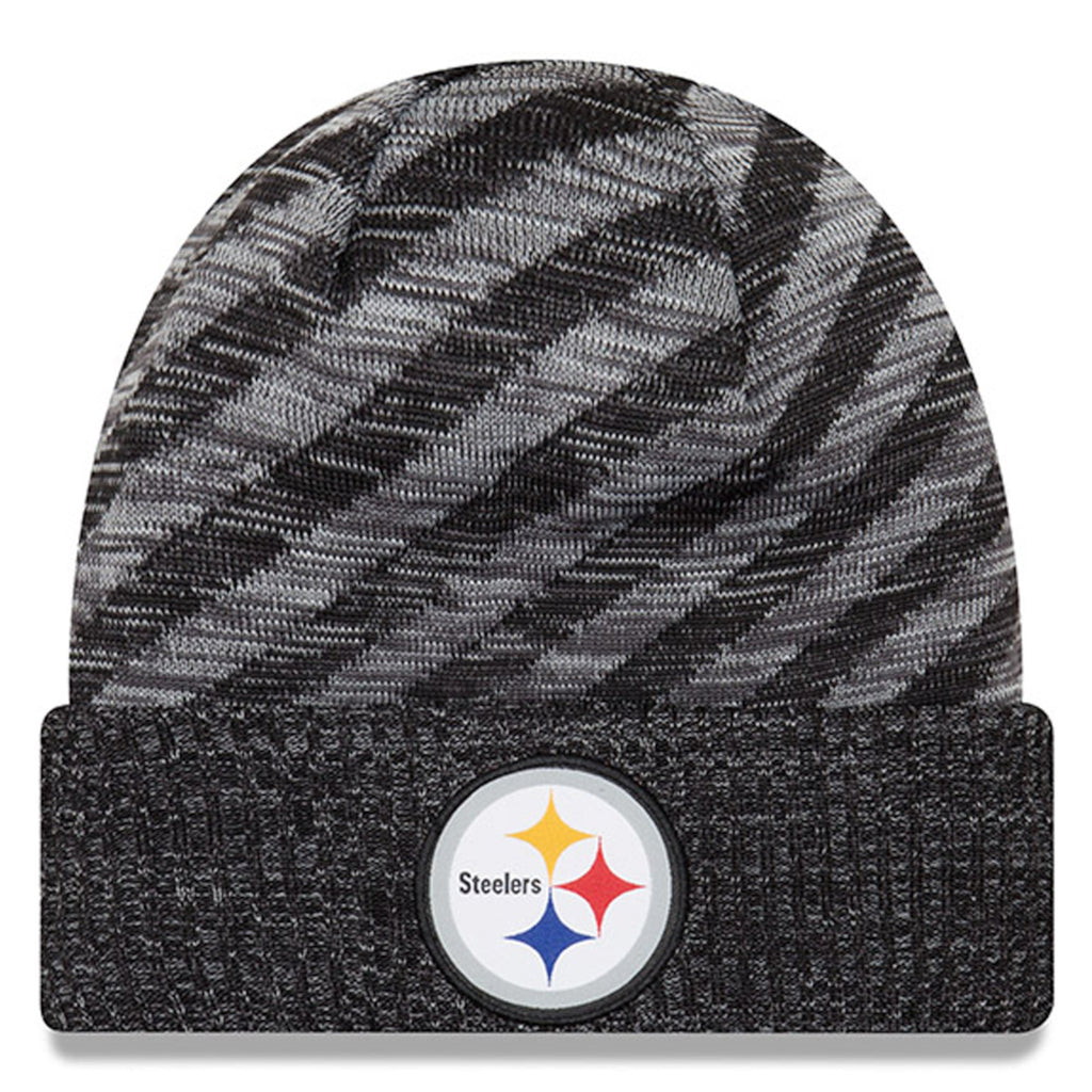 Pittsburgh Steelers Beanie New Era 2018 Official Sideline TD Knit Hat – THE  4TH QUARTER 1f0abe9b2fe9