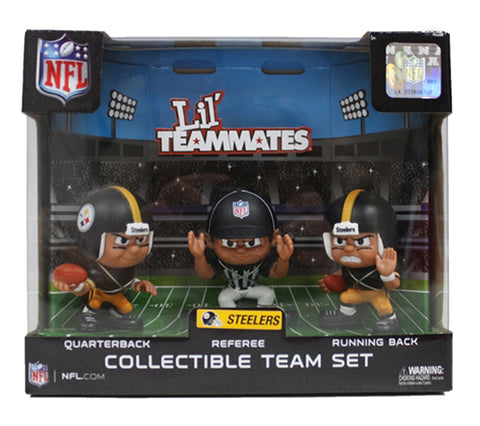 Pittsburgh Steelers Collectible Lil' Teammates Set of 3