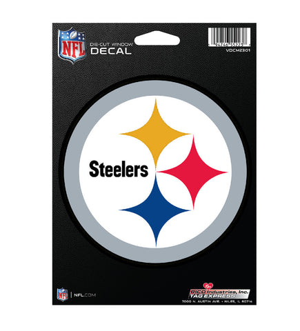 Pittsburgh Steelers Decal Medium Die Cut
