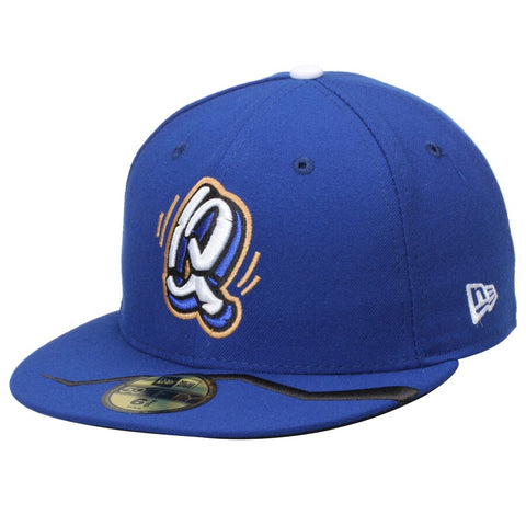 Rancho Cucamonga Quakes Fitted New Era 59Fifty Blue Hat Cap