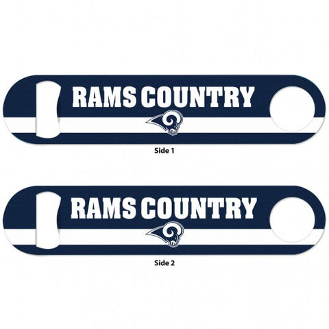 Los Angeles Rams Metal 2 Sided Bottle Opener
