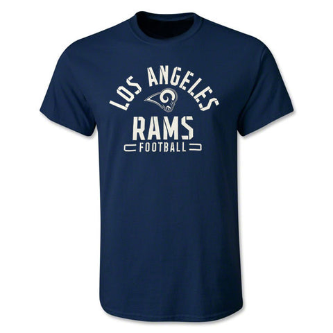 Los Angeles Rams Mens T-Shirt Fanatics Arch Navy