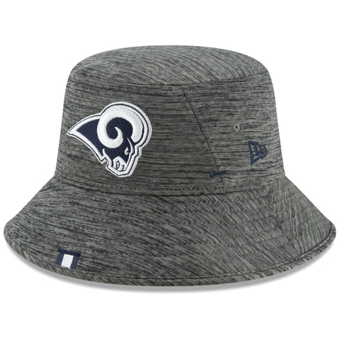 Los Angeles Rams Bucket New Era 2019 NFL Training Camp Official Graphite Hat
