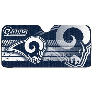 Los Angeles Rams Auto Sun Shade New Navy