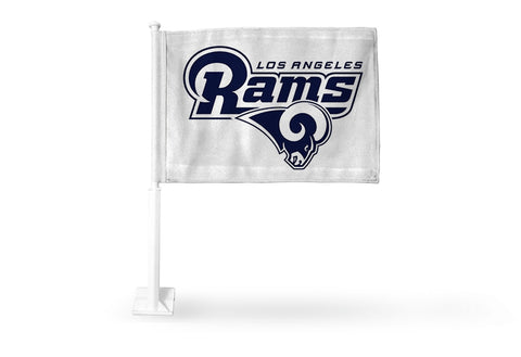 Los Angeles Rams Auto Tailgating Truck or Car Flag White