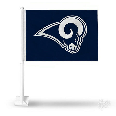 Los Angeles Rams Auto Tailgating Truck or Car Flag Logo Navy