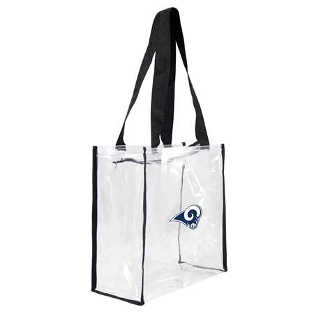 Los Angeles Rams Clear Square Stadium Tote Bag