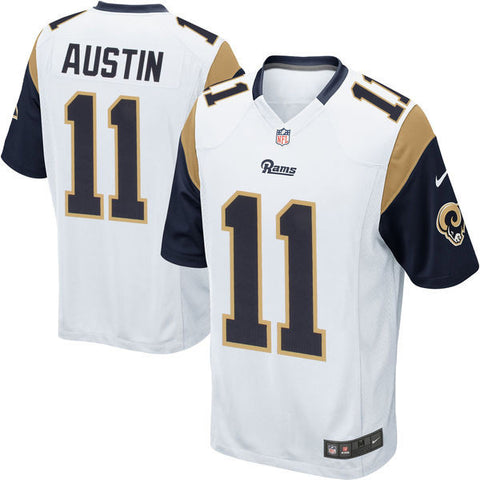 Los Angeles Rams Youth #11 Tavon Austin Nike 2016 Draft Pick Game Jersey White