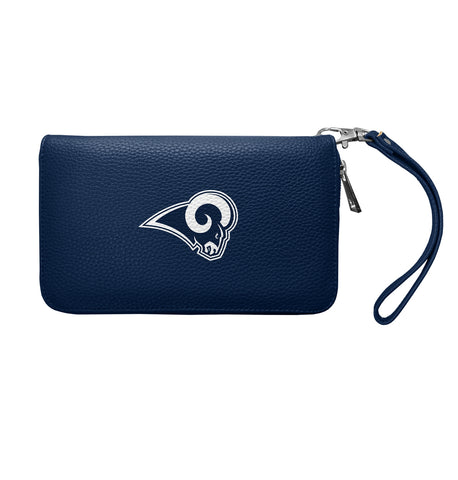 Los Angeles Rams Womens Wallet Pebble Organizer