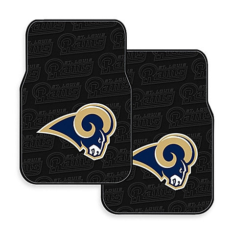 Los Angeles Rams 2-Pack Vinyl Car Mat Set