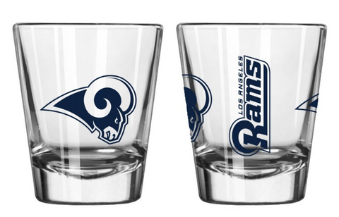 Los Angeles Rams 2oz Gameday Shot Glass