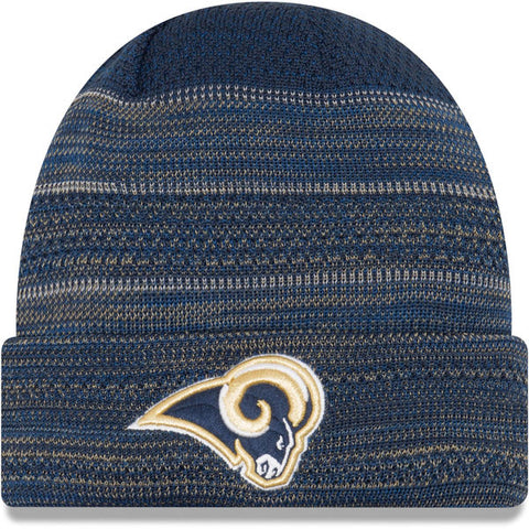 Los Angeles Rams New Era 2017 Sideline Official TD Knit Hat