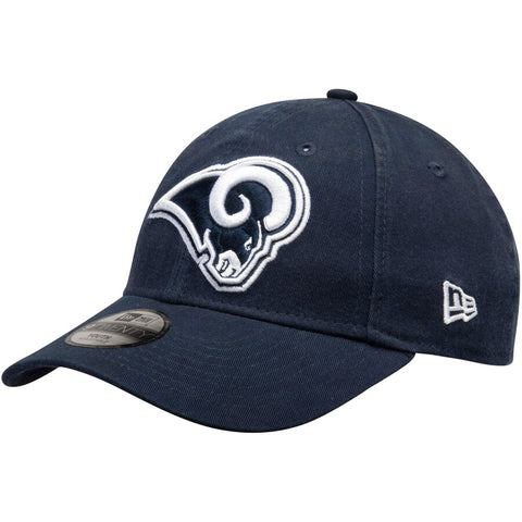 Los Angeles Rams Youth Strapback New Era 9Twenty Adjustable Cap Hat Navy