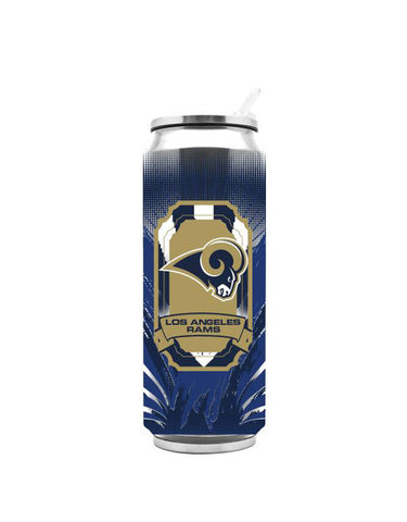 Los Angeles Rams 16.9 oz Tall Boy Thermo Tumbler Travel Mug Cup